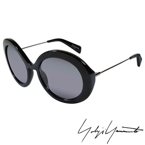 Yohji Yamamoto 山本耀司 前衛復古圓形太陽眼鏡~灰色~YY5001~019