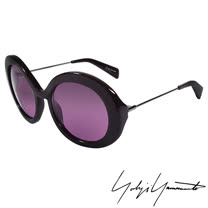 Yohji Yamamoto 山本耀司 前衛復古圓形太陽眼鏡-紫色-YY5001-771