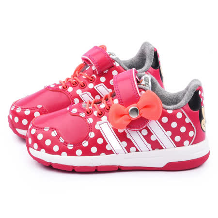 Adidas 小童 迪士尼米妮聯名運動鞋B23887-桃紅