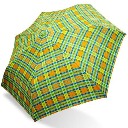 【rainstory】翠玉格紋抗UV隨身自動傘