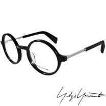 Yohji Yamamoto 山本耀司時尚金屬混搭圓框造型光學眼鏡 YY1006-019