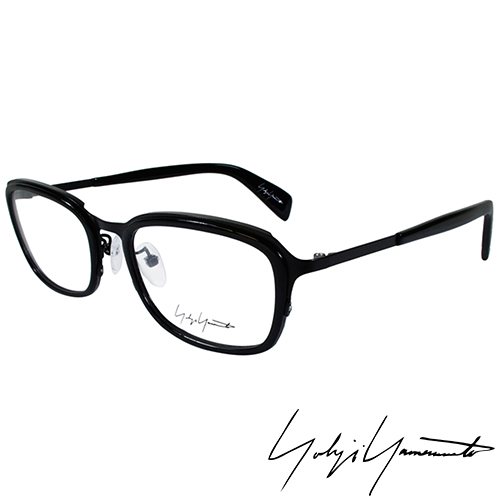 Yohji Yamamoto 山本耀司 立體方框 光學眼鏡~黑~YY1022~019