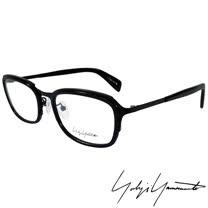 Yohji Yamamoto 山本耀司 立體方框時尚光學眼鏡-黑-YY1022-019