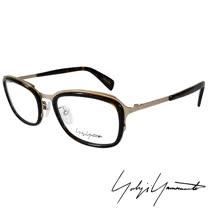 Yohji Yamamoto 山本耀司 立體方框時尚光學眼鏡-琥珀金-YY1022-127