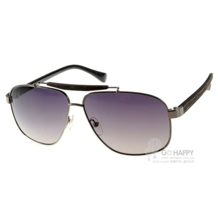 Calvin Klein太陽眼鏡 時尚潮流飛官款(銀黑) #CK1187S 031