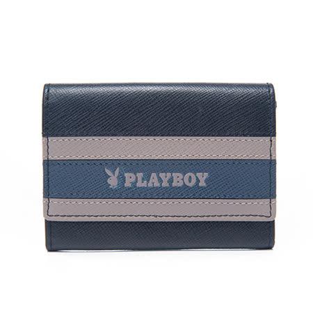 PLAYBOY- Current 海流系列 卡片夾-黑色