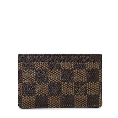 Louis Vuitton LV N61722 Porte-cartes 棋盤格紋名片夾_預購