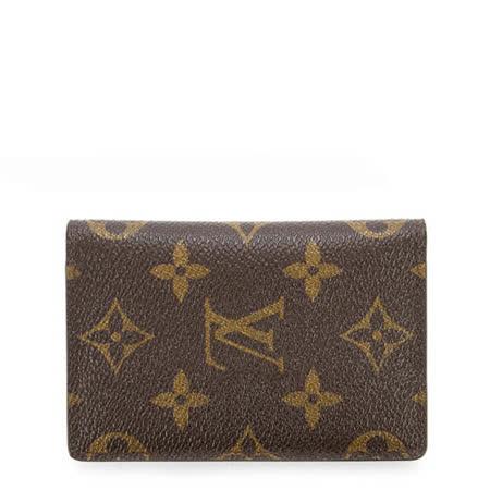 Louis Vuitton LV M60502 經典花紋信用卡簡便短夾_預購