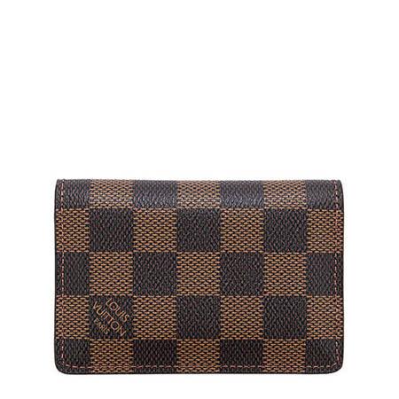 【私心大推】gohappy線上購物Louis Vuitton LV N63145 棋盤格紋信用卡簡便短夾_預購效果如何sogo com tw