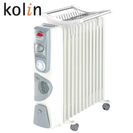 【Kolin歌林】13葉片電暖器 KFH-HC013