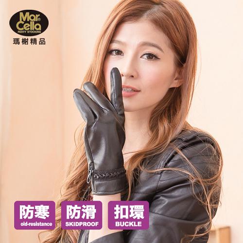瑪榭 輕盈熱能^(再升級^)手套04~棗^(女^)