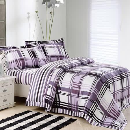 【Betrise格言】加大100%奧地利天絲TENCEL八件式兩用被床罩組