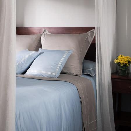 BBL 絕色(礫石褐)100%PIMA棉.素色雙人床包組