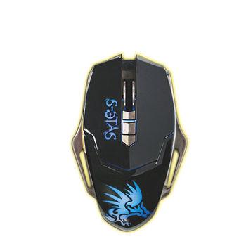 S-ETAS 黑暗武士電競專用滑鼠GKM-808