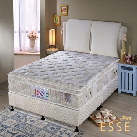 【ESSE御璽名床】三線乳膠硬式獨立筒床墊(護背系列6x6.2尺 雙人加大)