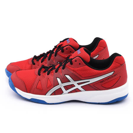 Asics 男款GEL-UPCOURT 排羽球運動鞋 B400N-2393-紅