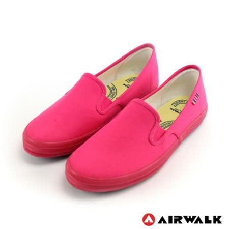 AIRWALK(女) - 無盡青春至尊系列 懶人式直套帆布鞋 - 桃