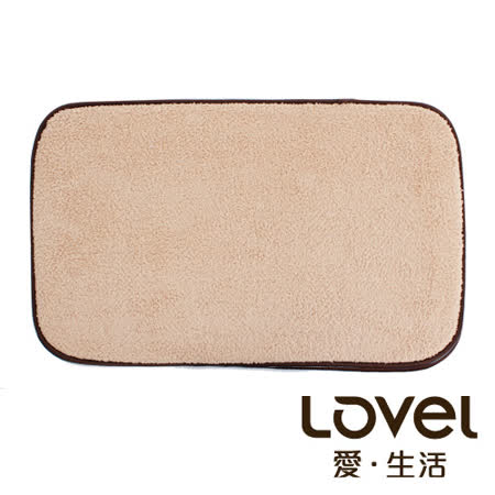 LOVEL  瞬間吸水加厚防滑浴墊/地墊(38X60CM)共4色