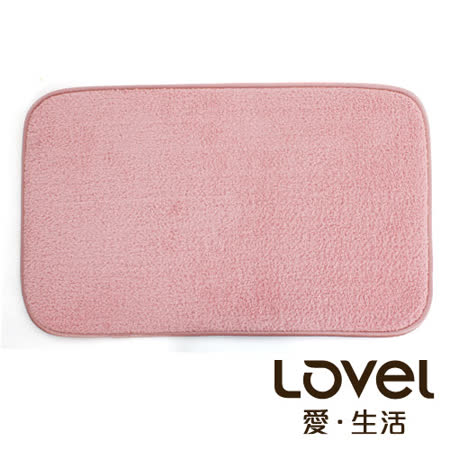 LOVEL  瞬間吸水加厚防滑浴墊/地墊(43X65CM)共4色