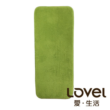 LOVEL  瞬間吸水加厚防滑浴墊/地墊(44X108CM)共4色