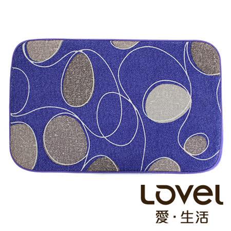 LOVEL瞬間吸水浪花鵝軟石防滑浴墊/地墊(42X65CM)共4色
