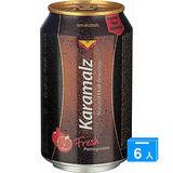 卡麥隆黑麥汁330ML*6罐-石榴風味