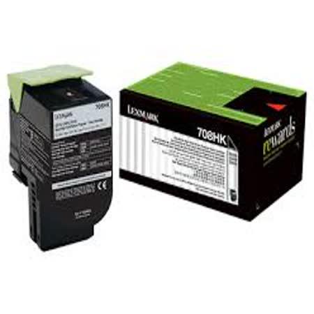 Lexmark 708HK 原廠黑色高容量碳粉匣 / 70C8HKE,CS310,CS410