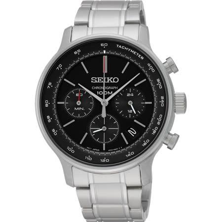SEIKO CS系列都會計時碼錶-/41mm 8T63-00A0D(SSB165P1)