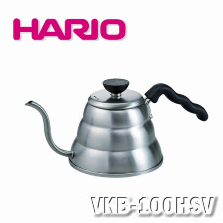 【HARIO】迷你不銹鋼細口壺/VKB-100HSV