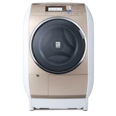 【HITACHI 日立】13KG蒸氣風熨斗洗脫烘滾筒洗衣機 SFBD3900TR (右開)