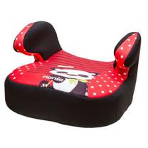 法國NANIA納尼亞輔助型汽車座椅(熊貓紅/花豹灰/熊貓綠)