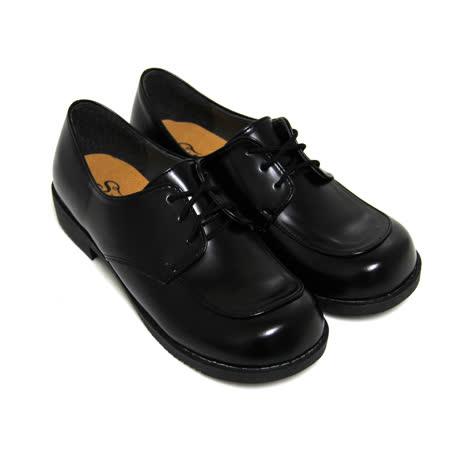 【Pretty】優質綁帶低跟學生皮鞋(女款)
