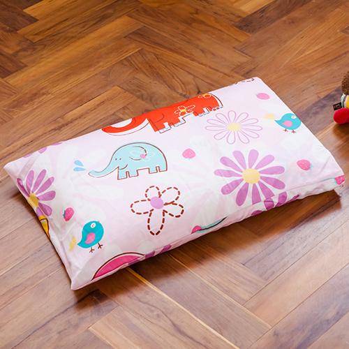 ~鴻宇HONG YEW~美國棉防蹣抗菌寢具 製100^%乳膠枕兒童 乳膠枕心心象印1851