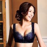 【蕾黛絲】美胸U型短束衣 M-EL(黑紫)