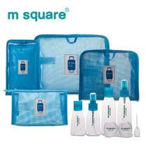 M Square旅行精選十二件組(水藍/桃粉)