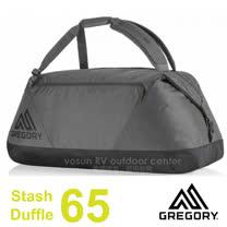 【美國 GREGORY】Stash Duffel 65L 多功能裝備袋/後背包.手提袋.旅行袋.行李袋/_黑 75504