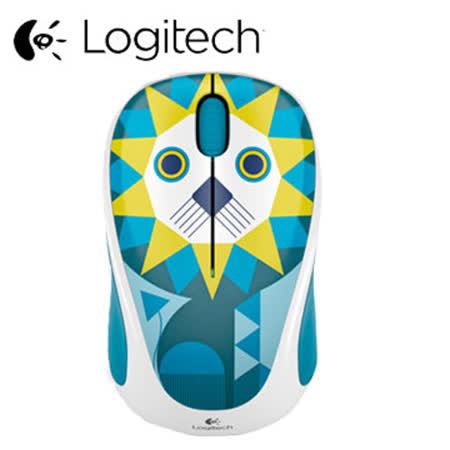 Logitech 羅技 無線滑鼠 M238 獅子
