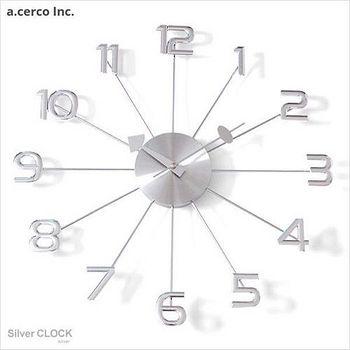 E&J a.cerco Clock 大數字掛鐘 1個