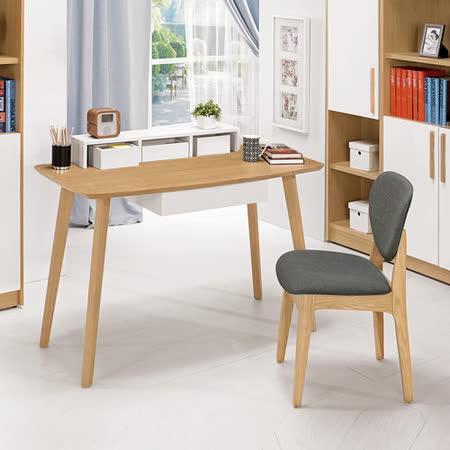 HAPPYHOME 哈頓4尺書架型書桌