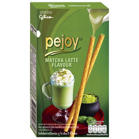 【glico 固力果】pejoy爆漿巧克力棒-抹茶口味 3盒/組