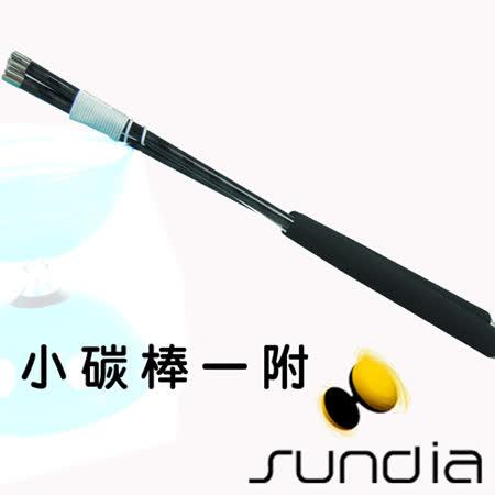 【三鈴SUNDIA】台灣製造 扯鈴用專業鈴棒/鈴棍--不易長繭31cm小碳棒(附繩)