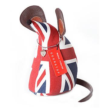 老鼠造型动物纸镇(英国国旗)