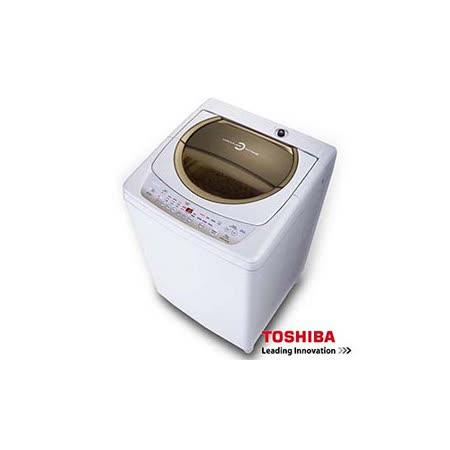 ★贈Dashiang真空杯保溫杯★『TOSHIBA』☆東芝 星鑽不鏽鋼槽11公斤洗衣機 AW-B1291G(WD) 璀璨金