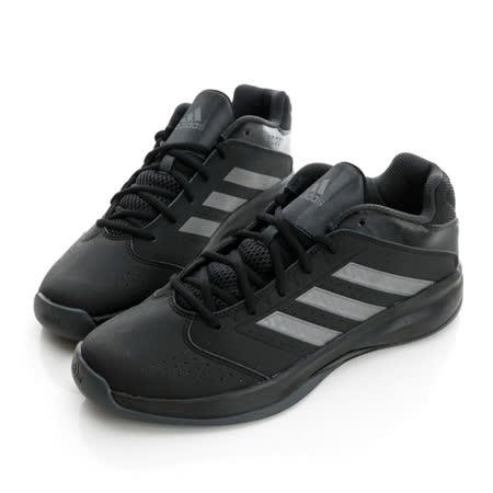 adidas (男)籃球鞋-黑-D69486