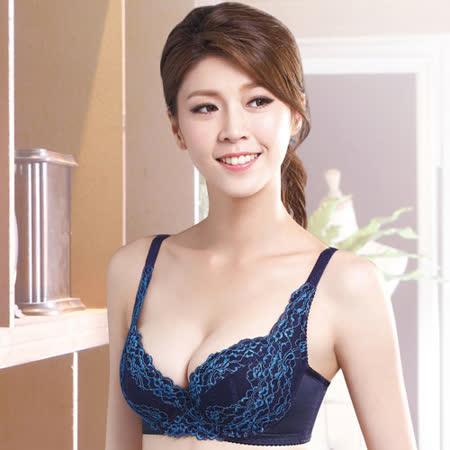 【莎薇】側魔翼B-E罩杯內衣(寶石藍)