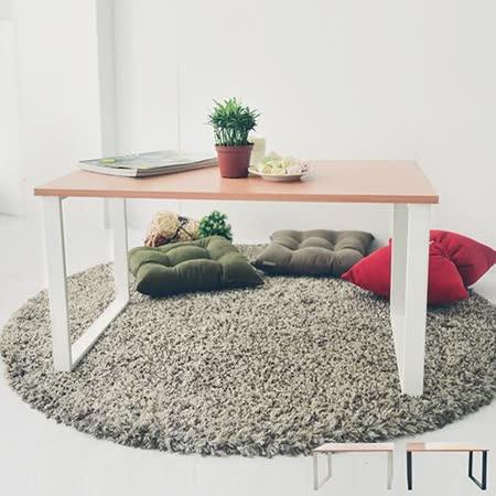 《Peachy life》方型設計工業風大茶几/和室桌(2色可選)
