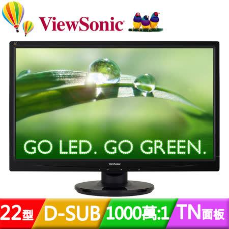 ViewSonic 優派 VA2246a-LED  22型雙介面超高畫質液晶螢幕