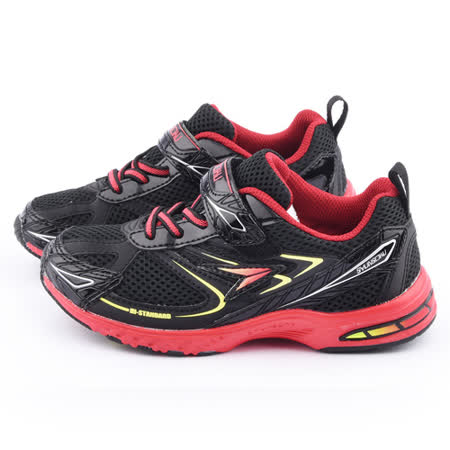 Achilles瞬足 大童 輕量機能運動鞋ESJJ0821-黑