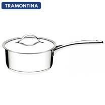 TRAMONTINA DUO 白金系列20公分單把湯鍋2.8L