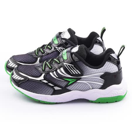 Achilles瞬足 大童 輕量機能運動鞋ESJJ0911-黑